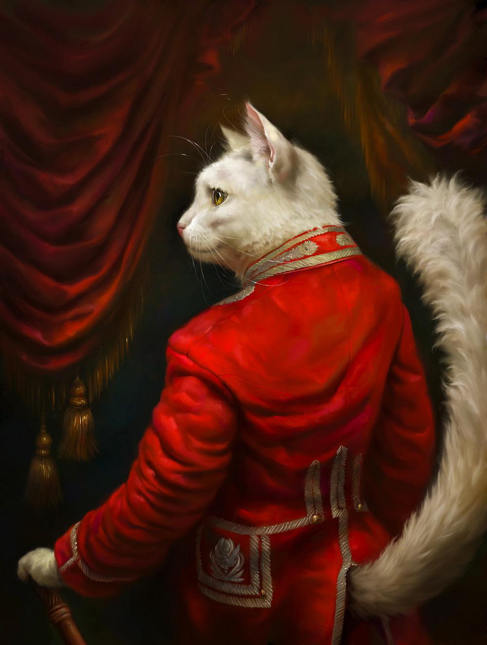 The Hermitage S Court Cats Portraits By Eldar Zakirov